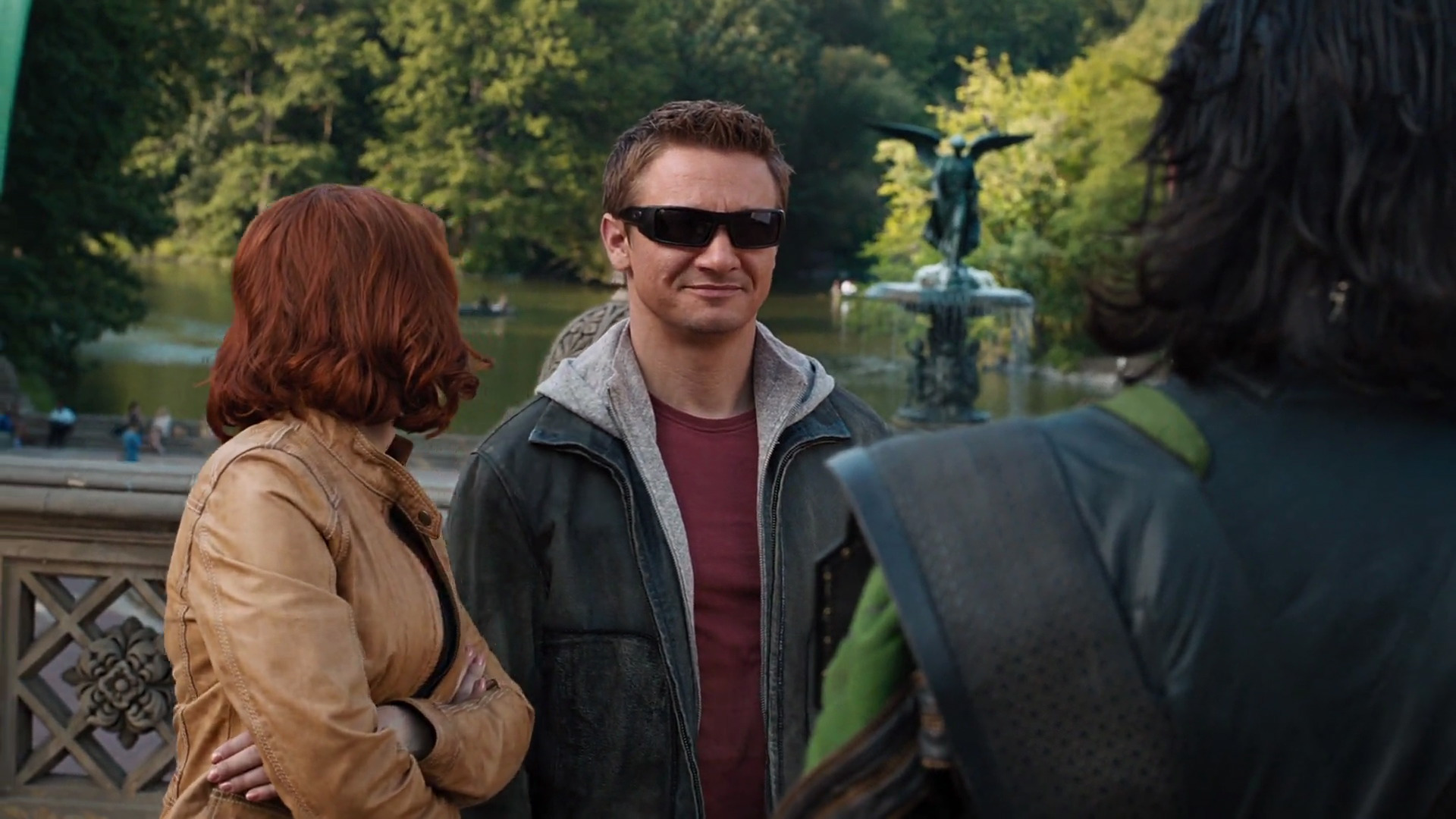 Captain America is  supposed  to be dressed like a dork. What's this guy's excuse?