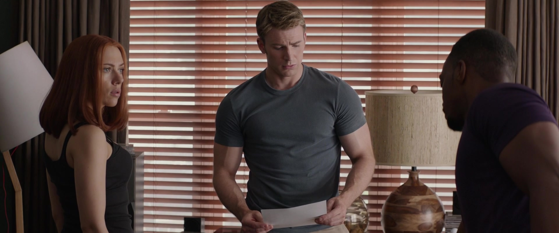 I also love whoever told Steve that this is his correct t-shirt size.