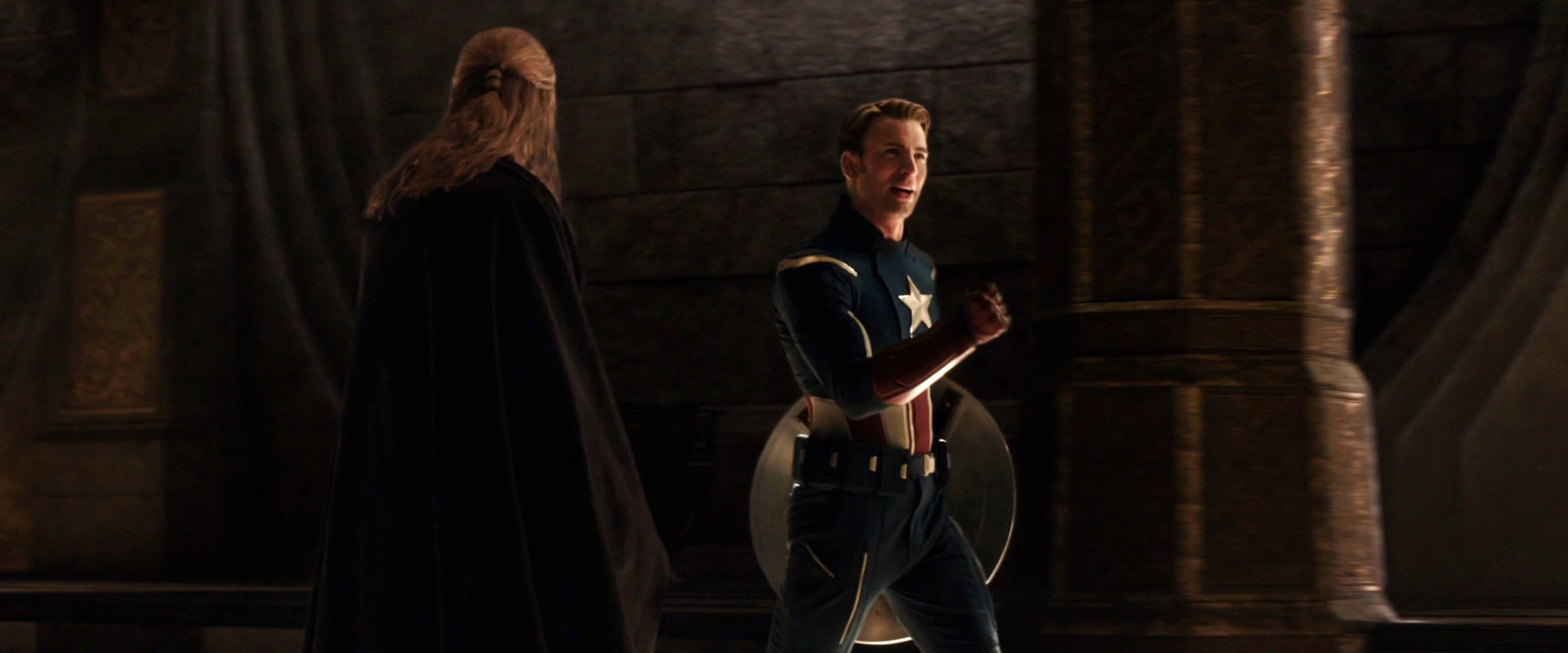 Captain America cameos in every movie, please!