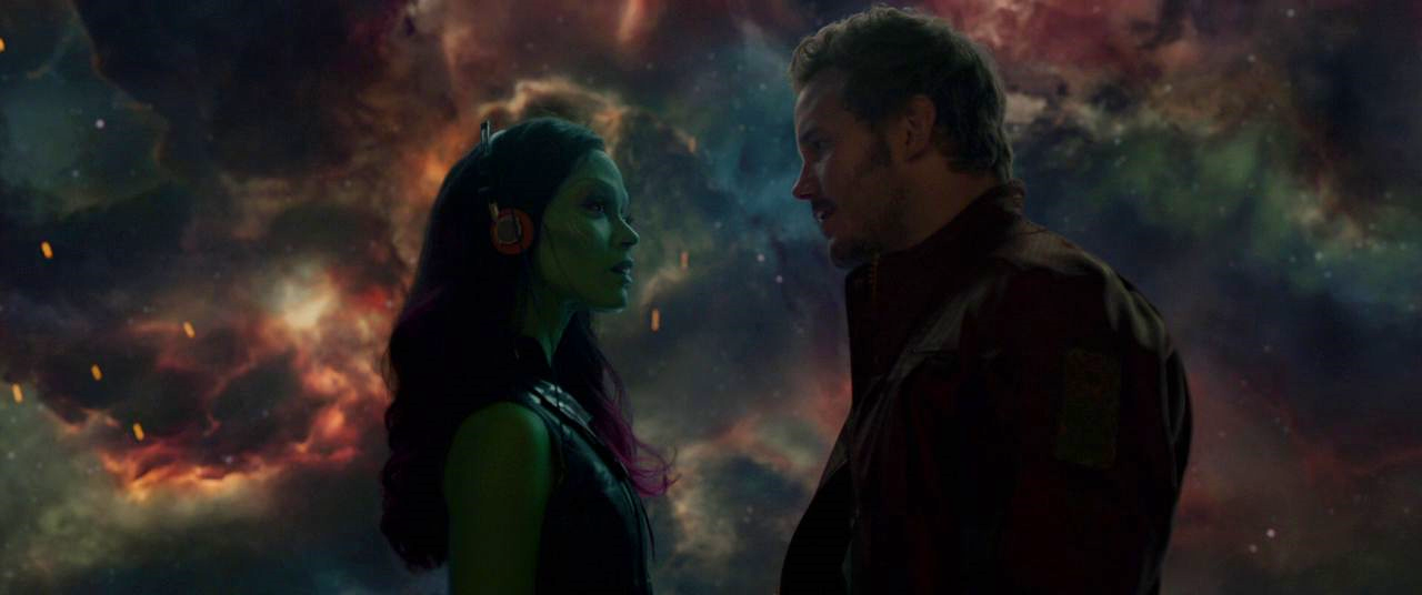 Gamora, you are way too good for him.
