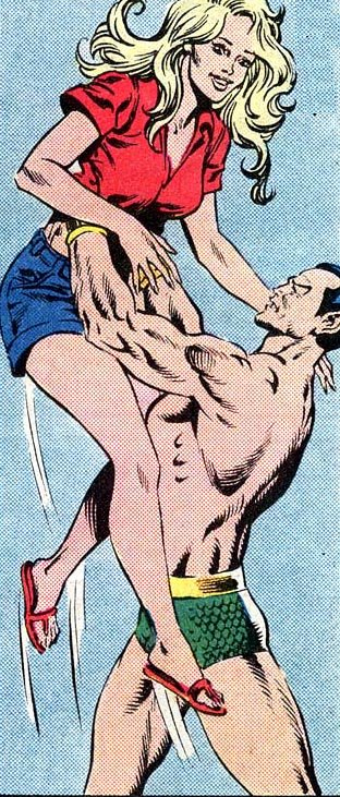 Namor found this girl.