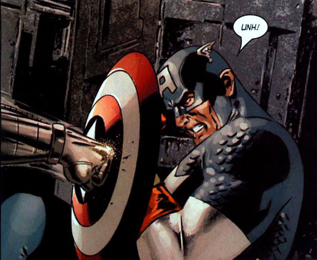 He makes that sound a lot when bucky is pummeling him.
