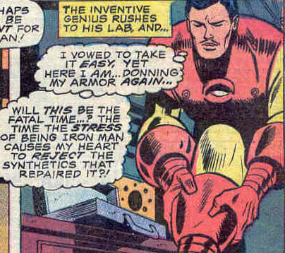 Iron Man: Vowing to Take it Easy since 1965.