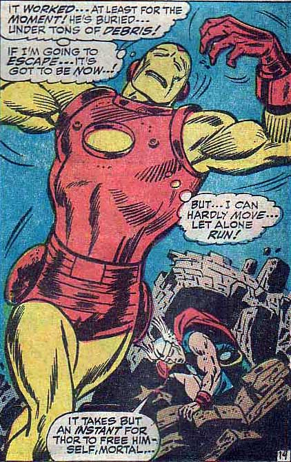 I just think this is the most hilarious Iron Man I have ever seen.