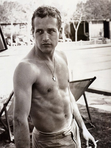 Oh, why not a little classic Paul Newman in the mix?