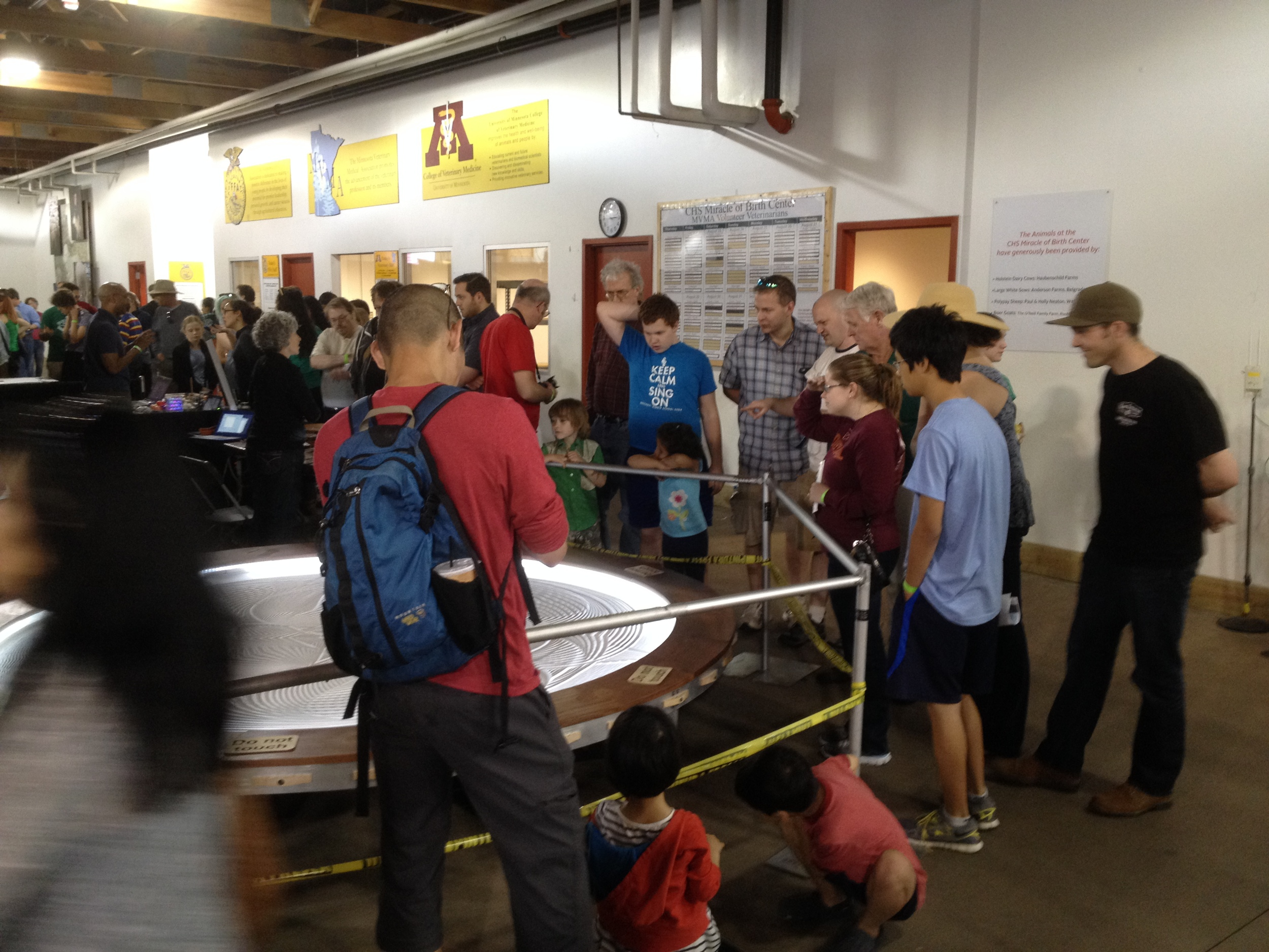 Sisyphus at the Twin Cities first Maker Faire