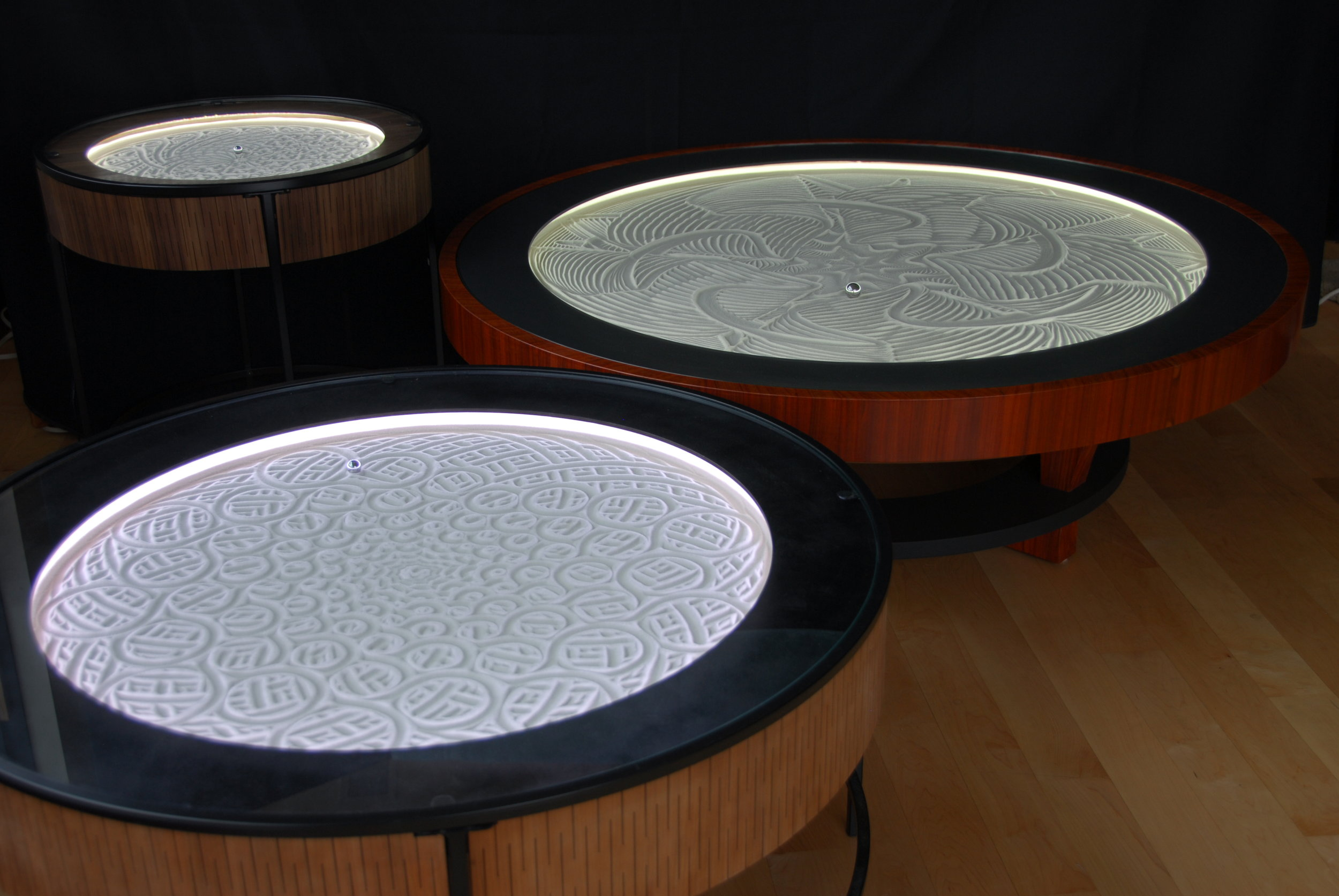 Sisyphus tables for home or office