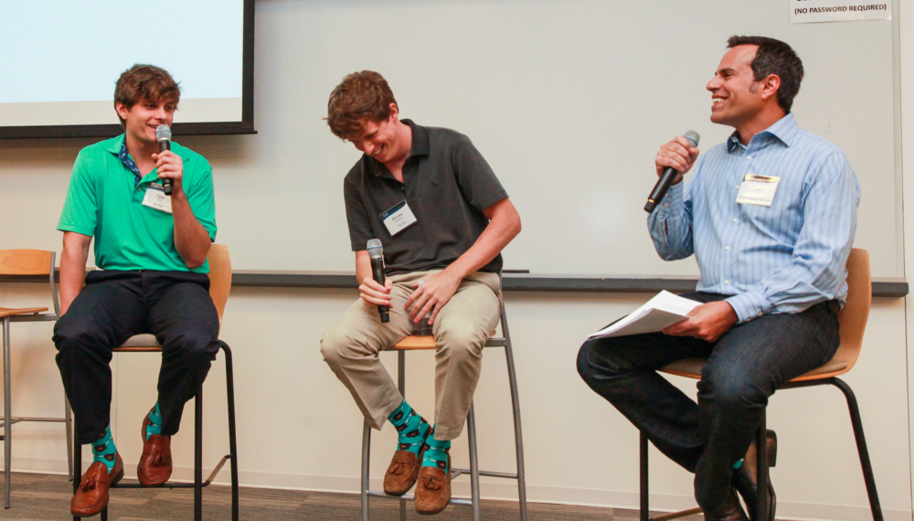 Brooks Buffington and Tyler Droll, Co-Founders, Yik Yak Moderated by Paul Ferris, General Partner, Azure Capital