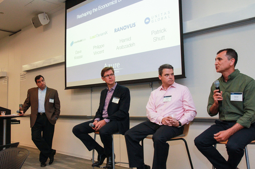 Enterprise Panel: Reshaping the Economics of the Data Center Moderated by Paul Weinstein, Azure Capital Intermodal Data, Load Dynamix, Ranovus and Unitas Global