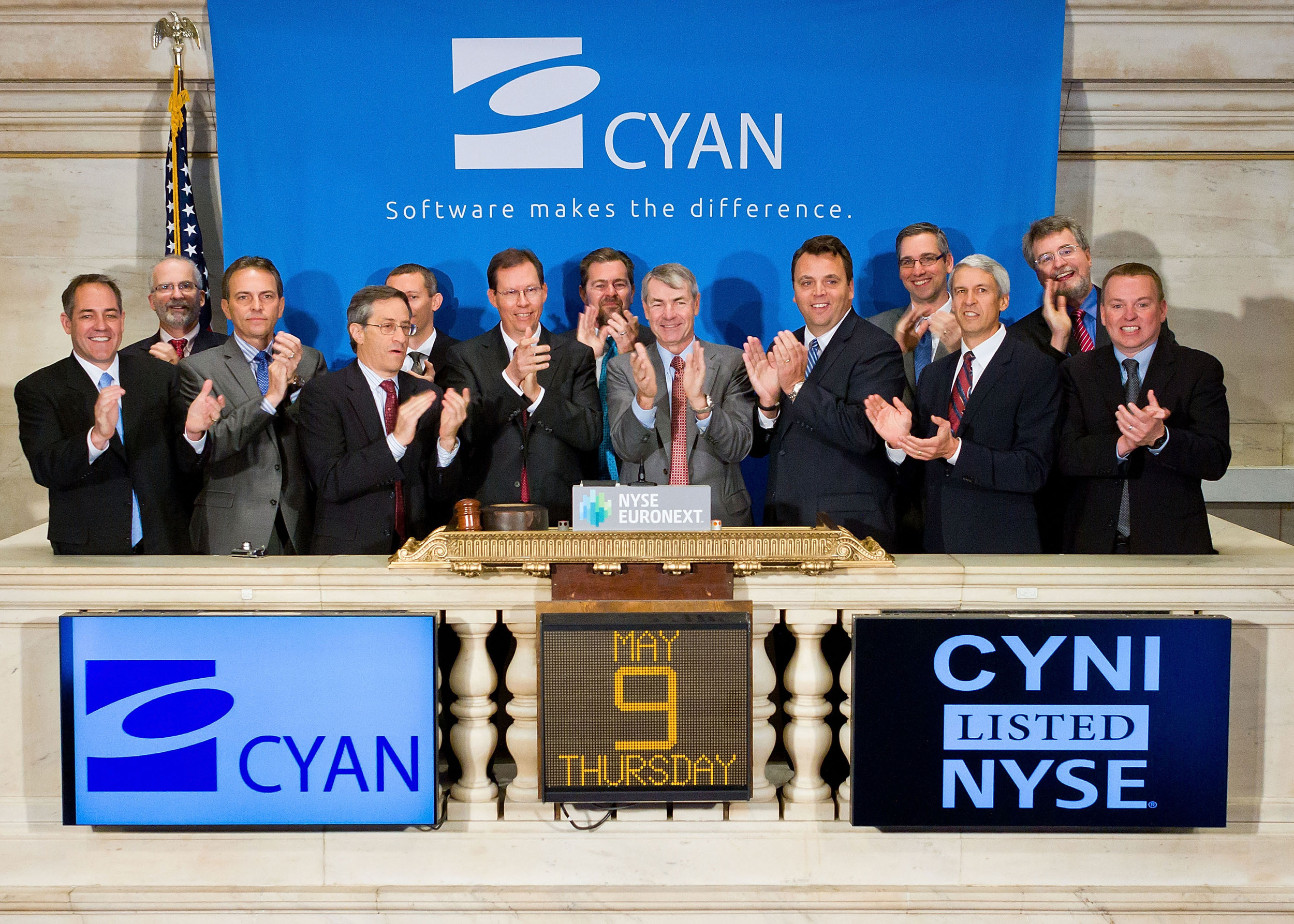 HELPING ENTREPRENEURS REDEFINE INDUSTRIES     CYAN     IPO in 2013, Acquired by Ciena in 2015