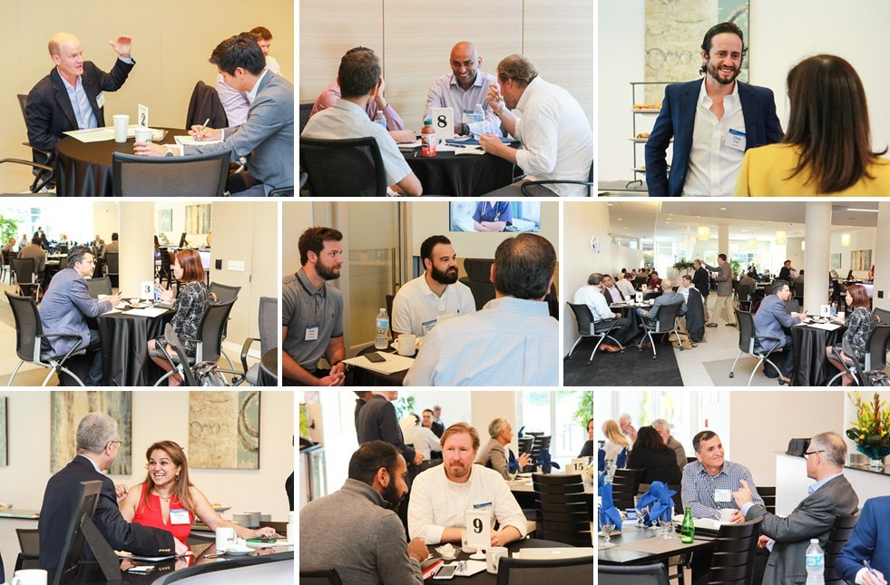 Azure CEO Day One-on-Ones   Over 240 one-on-one meetings with over 60 corporates