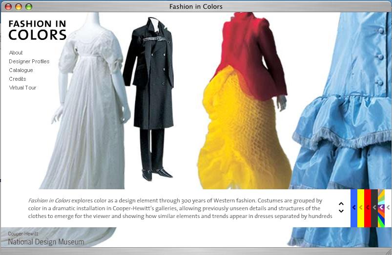 Cooper Hewitt Fashion In Colors Exhibit Design Tsang Seymour