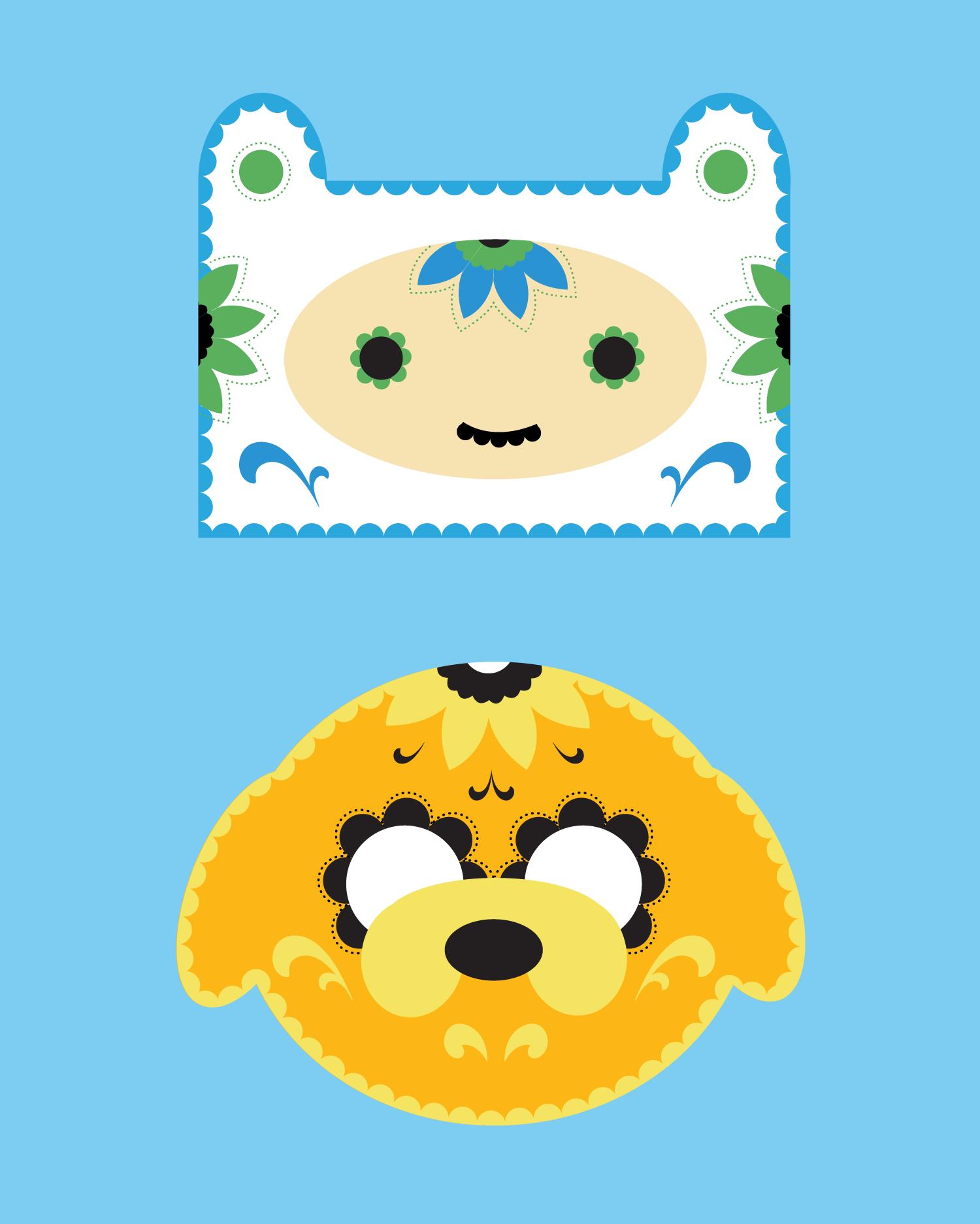 Adventure Time Sugar Skulls