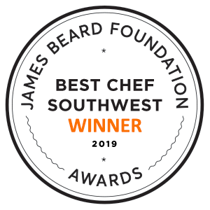 James Beard Winner Seal