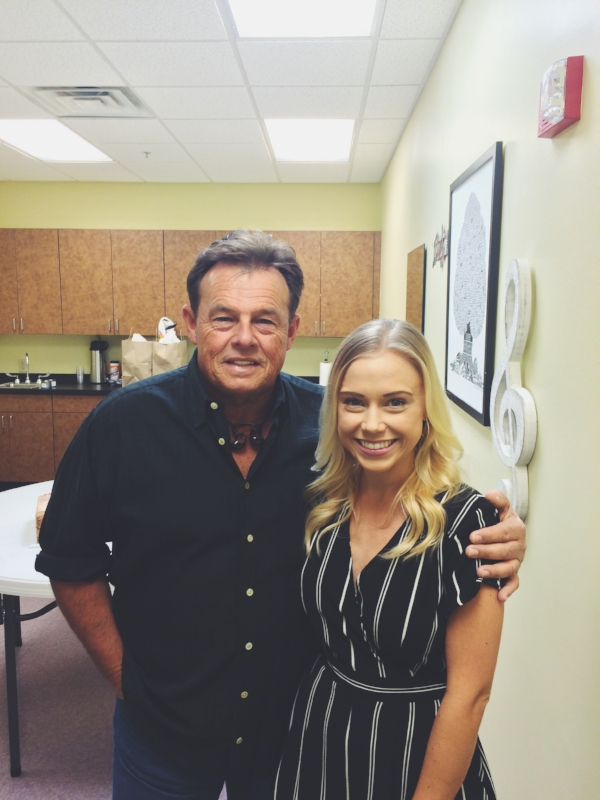 Backstage with Sammy Kershaw in Roanoke Rapids, NC | Photo by John Speight