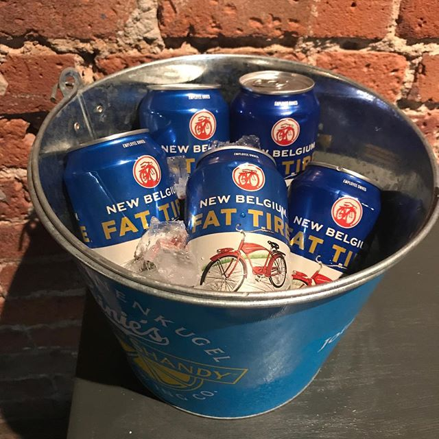 Fat Tire bucket of 5 $15 all weekend#beer #ues #irishpub