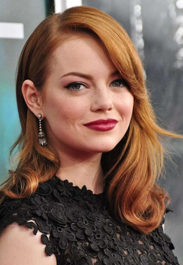 Emma Stone - Redhead - Natural Brown with warmth