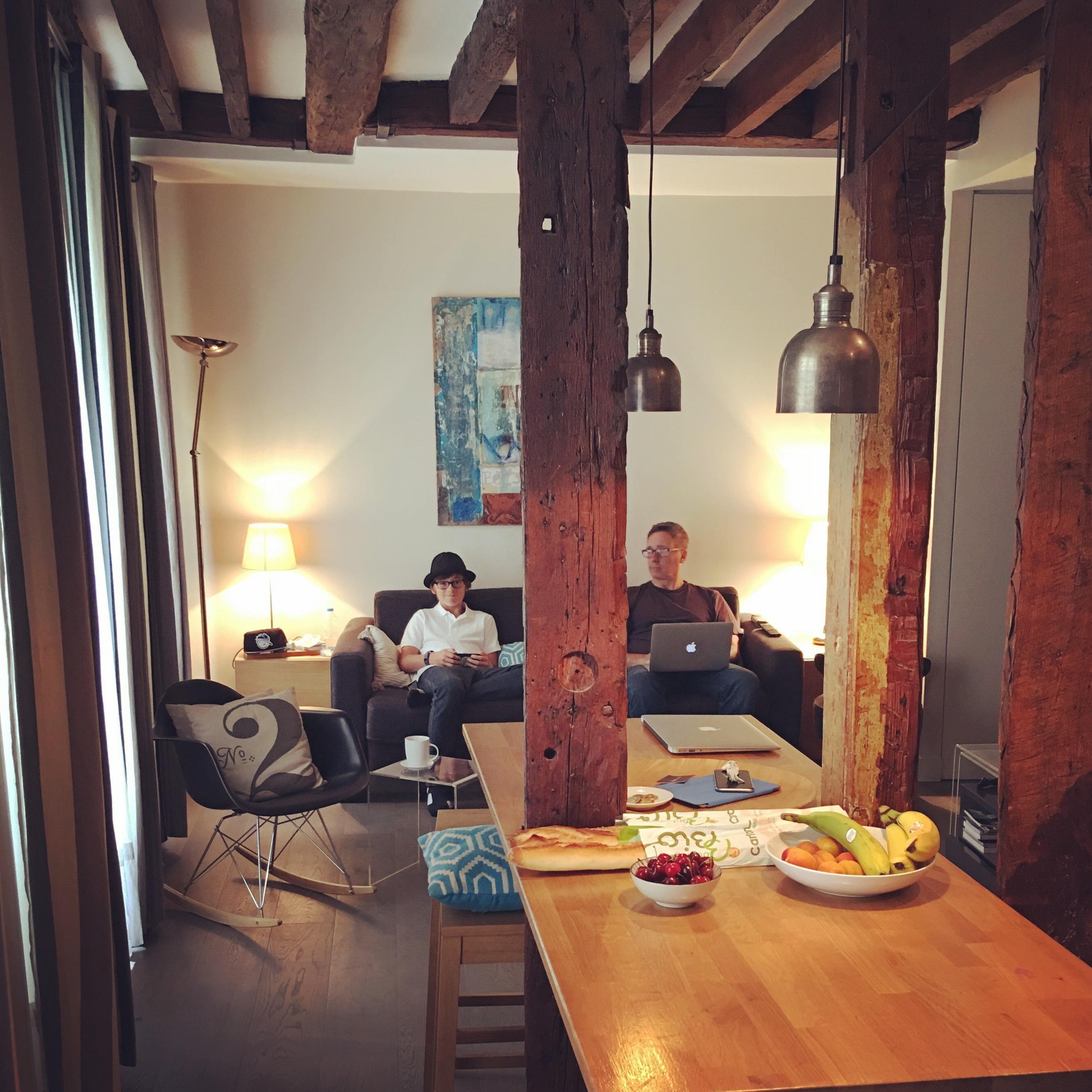 Our little Paris apartment