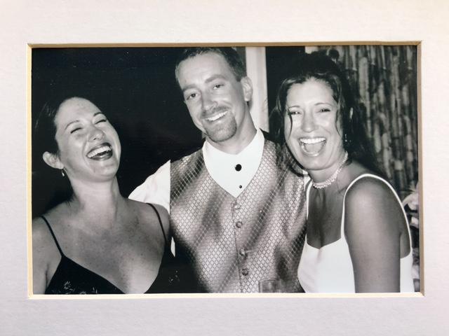 Kacy + Scott's wedding day 9/2/00