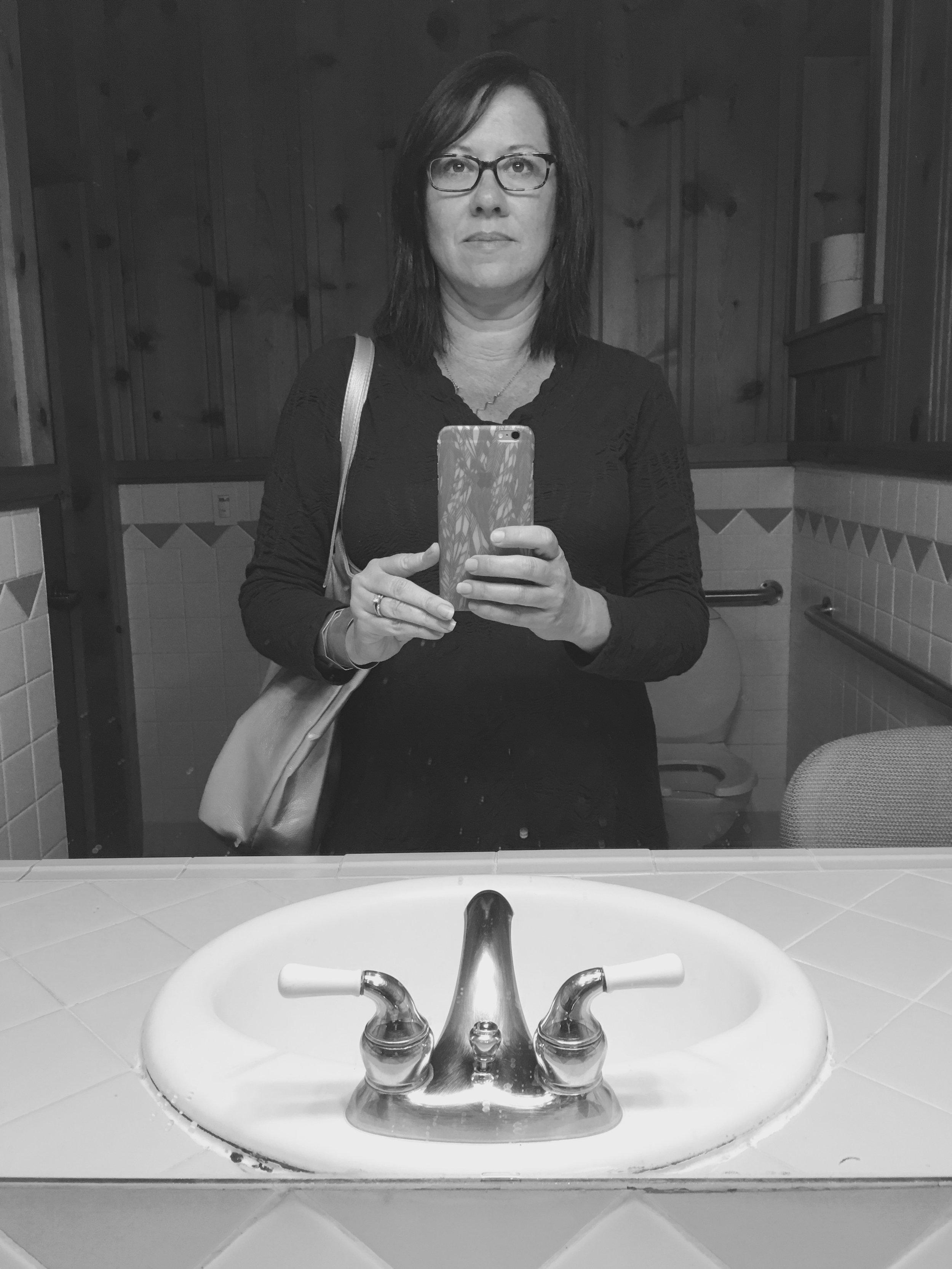 Bathroom Selfie :: 2017