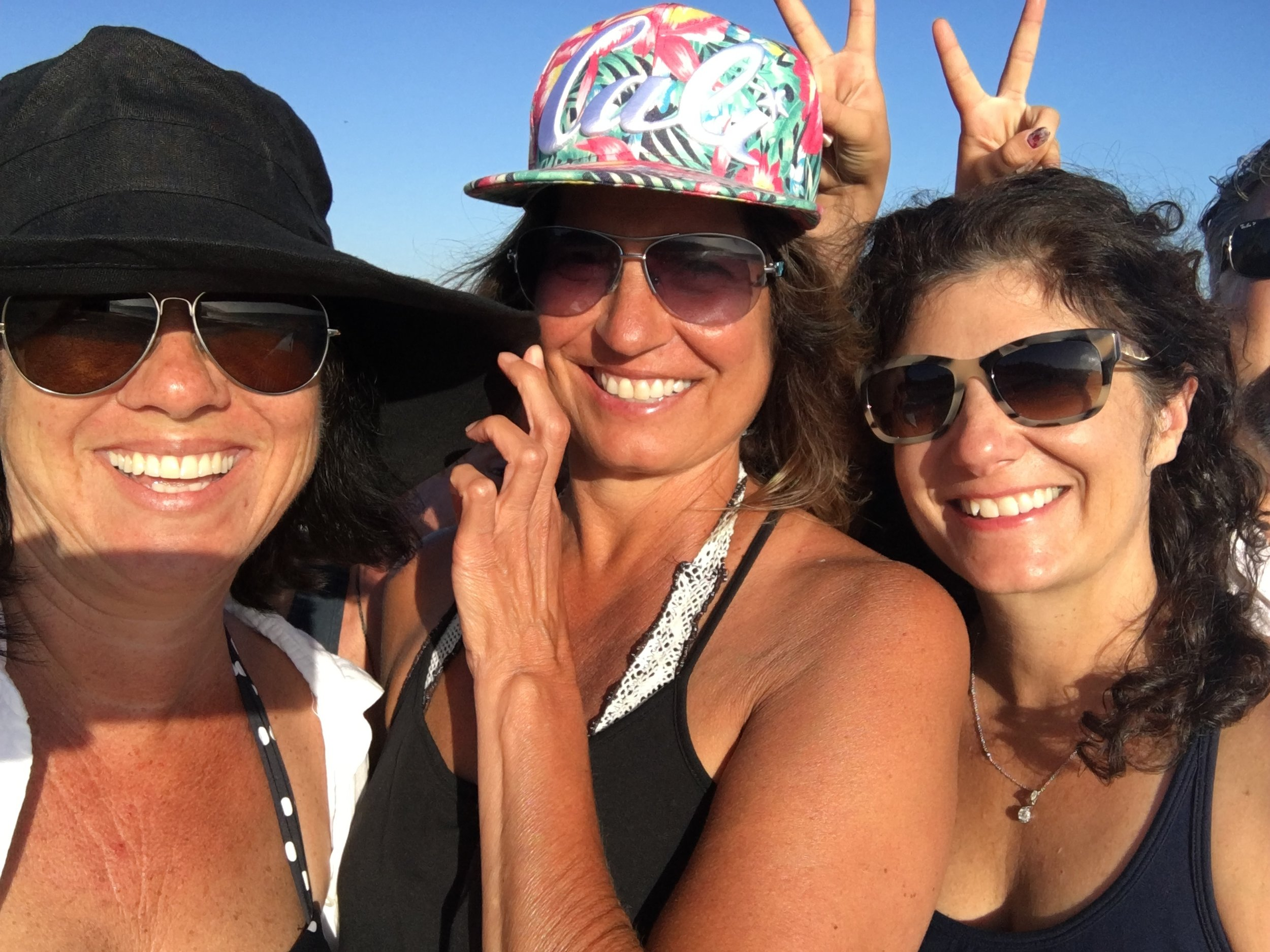 July 2016 :: Me + Kacy + Stephanie in Malibu, CA