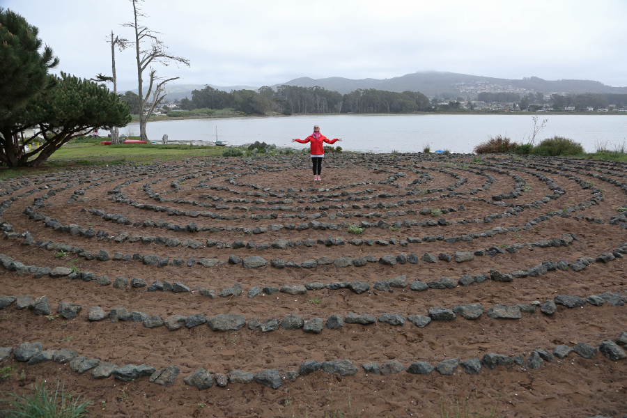 The Los Osos Labyrinth Photo credit:  David Silpa