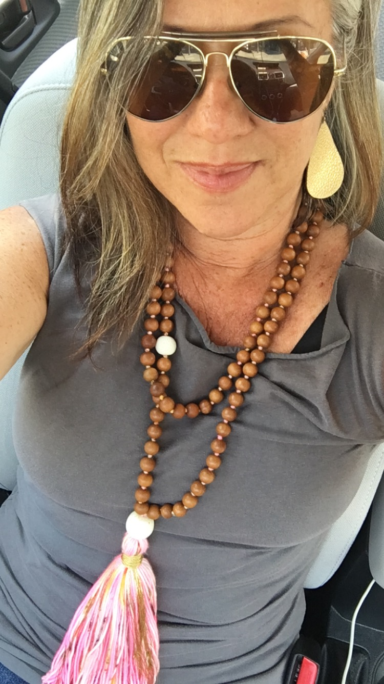 3.5 YEARS OF SOBRIETY: Mega Mala gifted to me by sasha korellis of  satcha malas