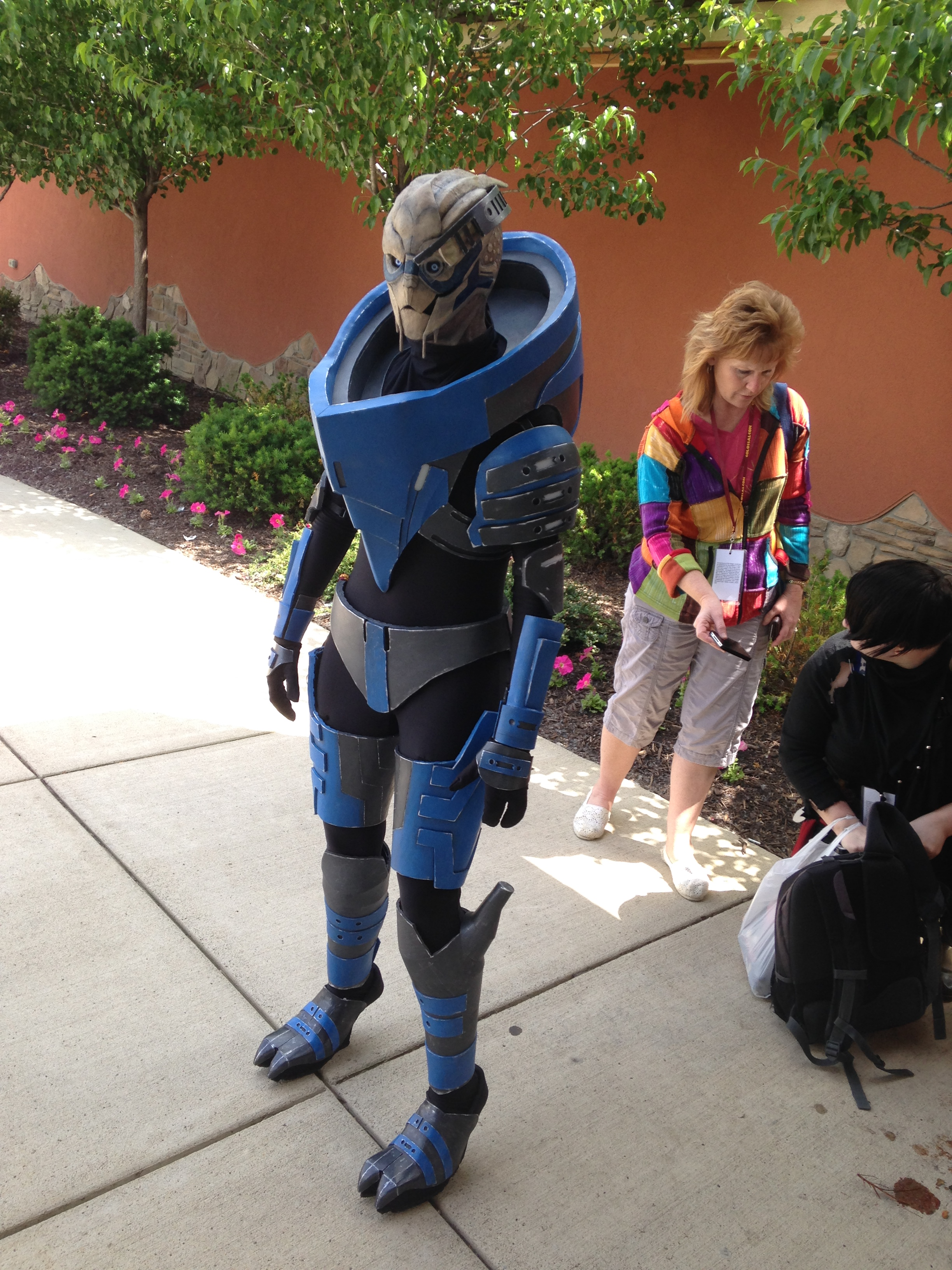 I don't even know who this character is, just that they're from Mass Effect. But what I do know is that this cosplayer is A-F***ING-MAZING! 'Nuff said.
