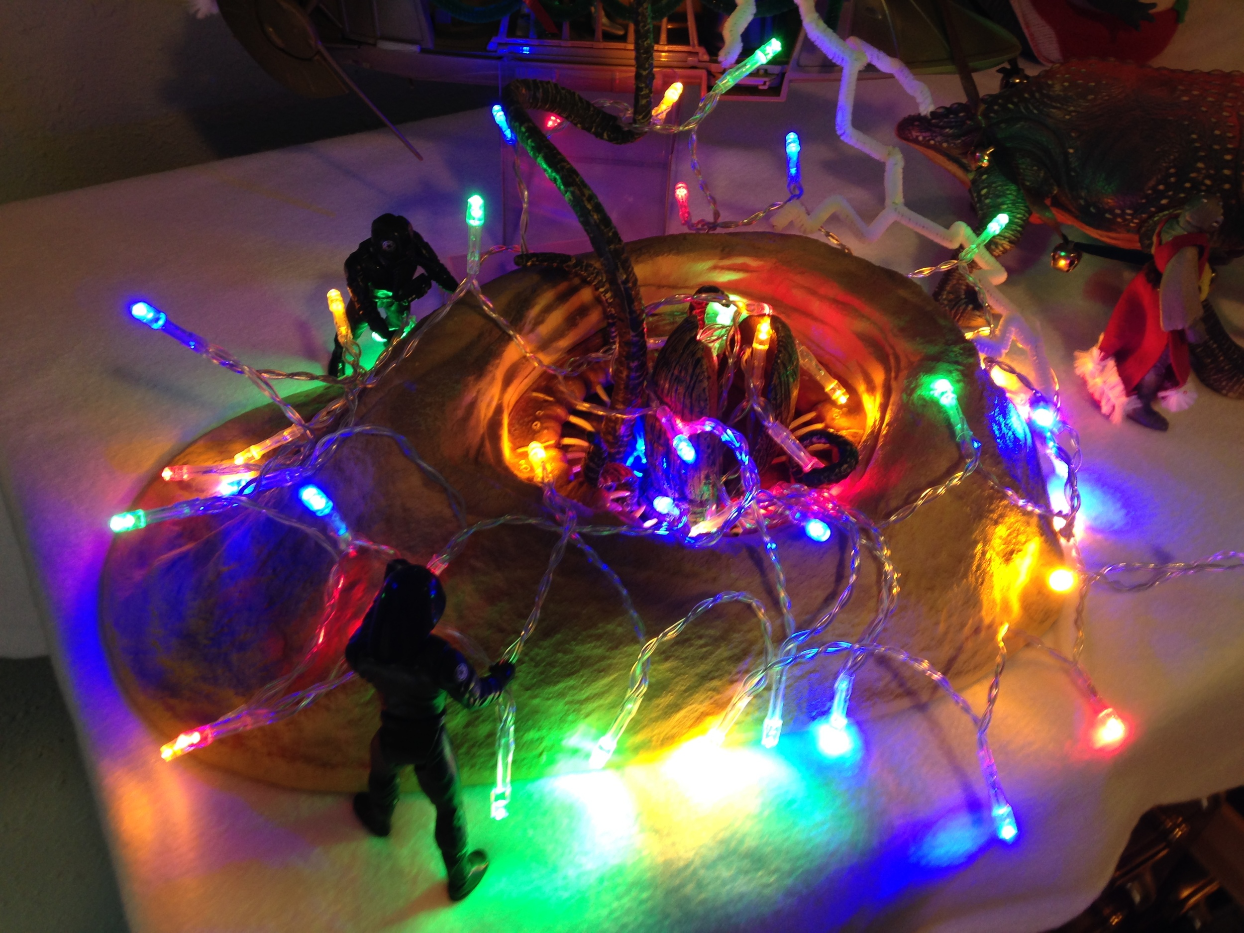 These Imperial officers are helping decorate the Sarlacc. Hopefully they don't get too close...