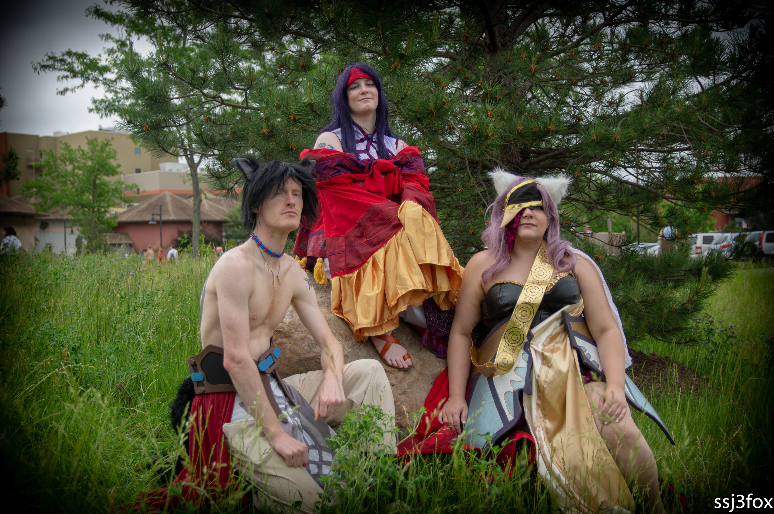 I still can't believe there was randomly a Sanaki. And that I  actually knew them from waaaay back.