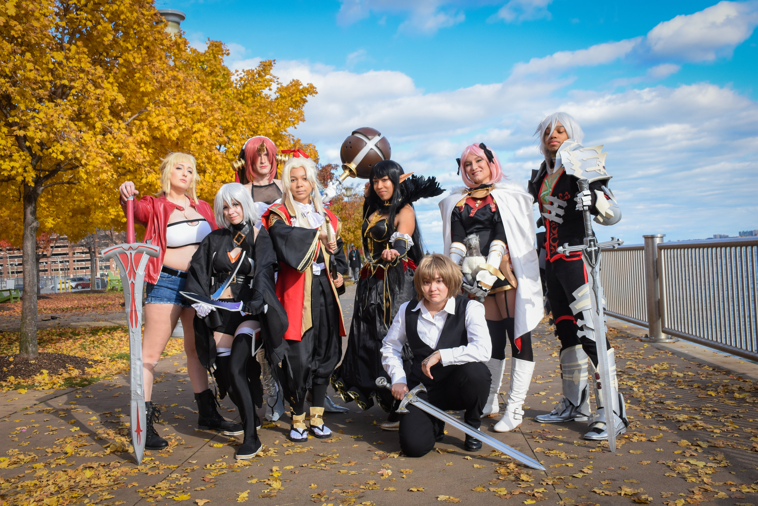 Mordred:  candlewaxcosplay  Jack:  holy.grail  Shiro Amakusa:  emma_the_fantastic   Semiramis:  nekoyasha  Seig:  tomoyoichijouji     Astolfo:  nihopalaoa     Seigfried:  fang_soul