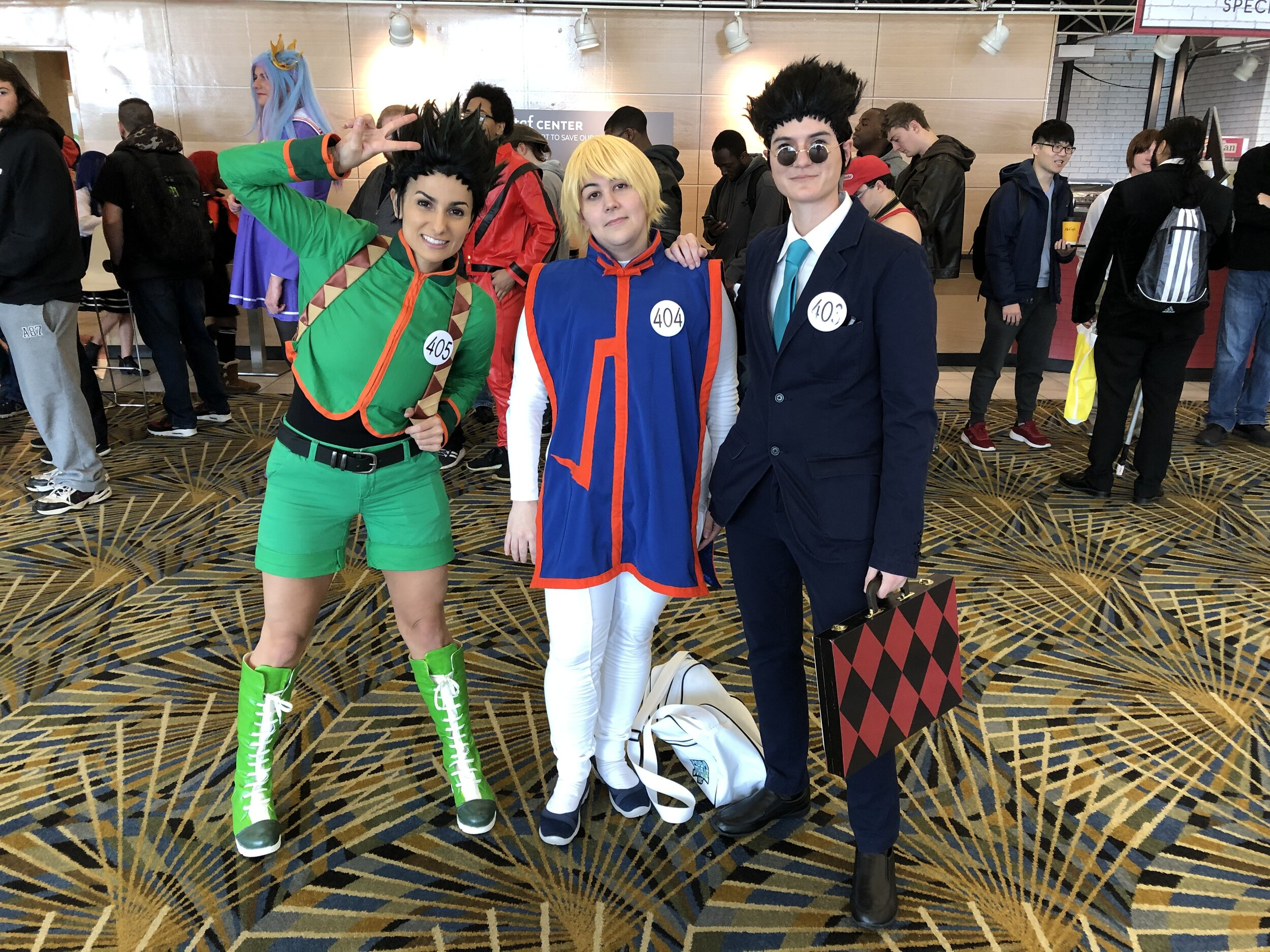Gon, Kurapika & Leorio (Hunter X Hunter)
