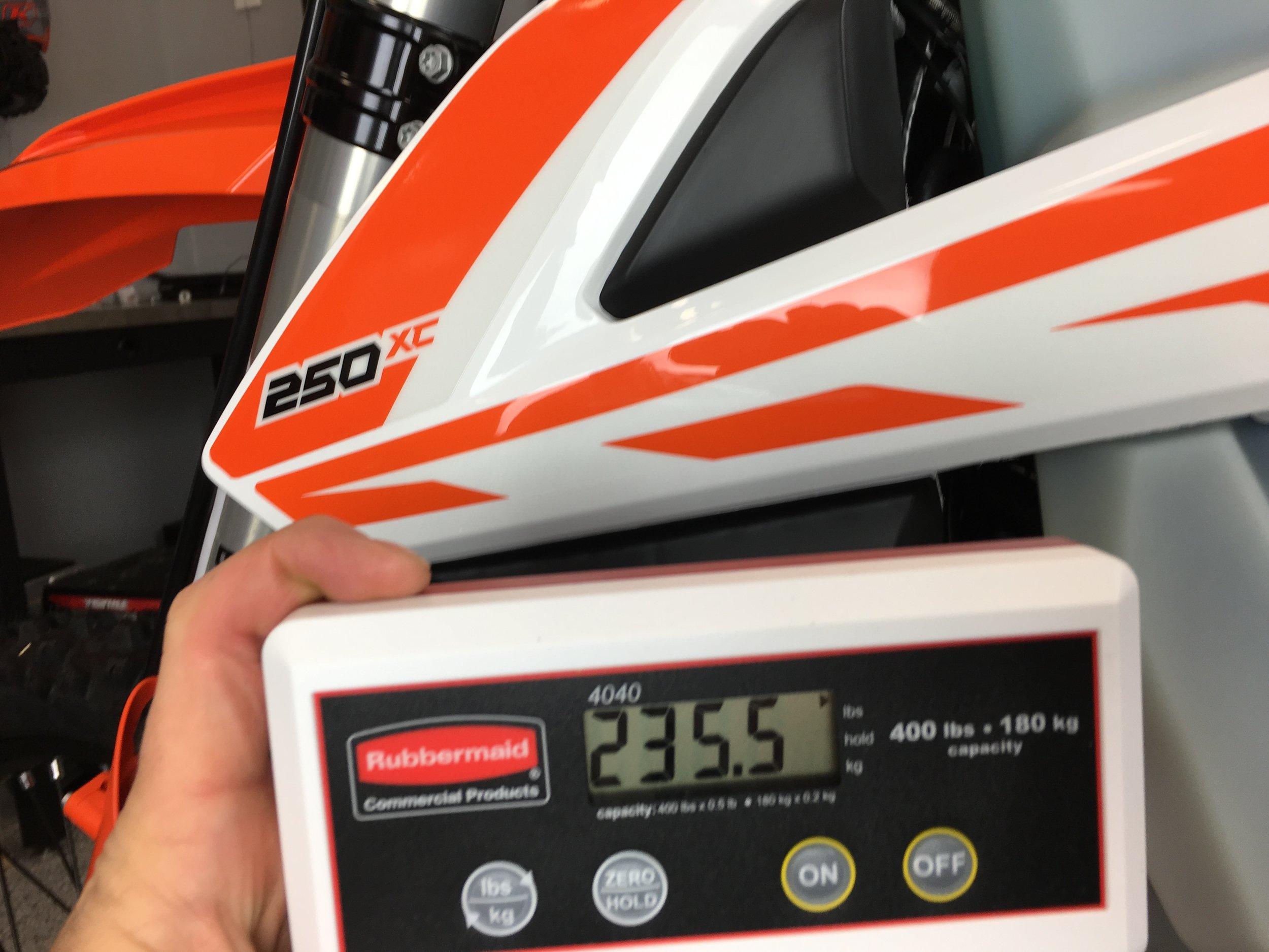2017 KTM 250 XC