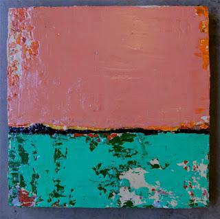 VALDOSTA /  mixed media on wood canvas / 250  / SOLD