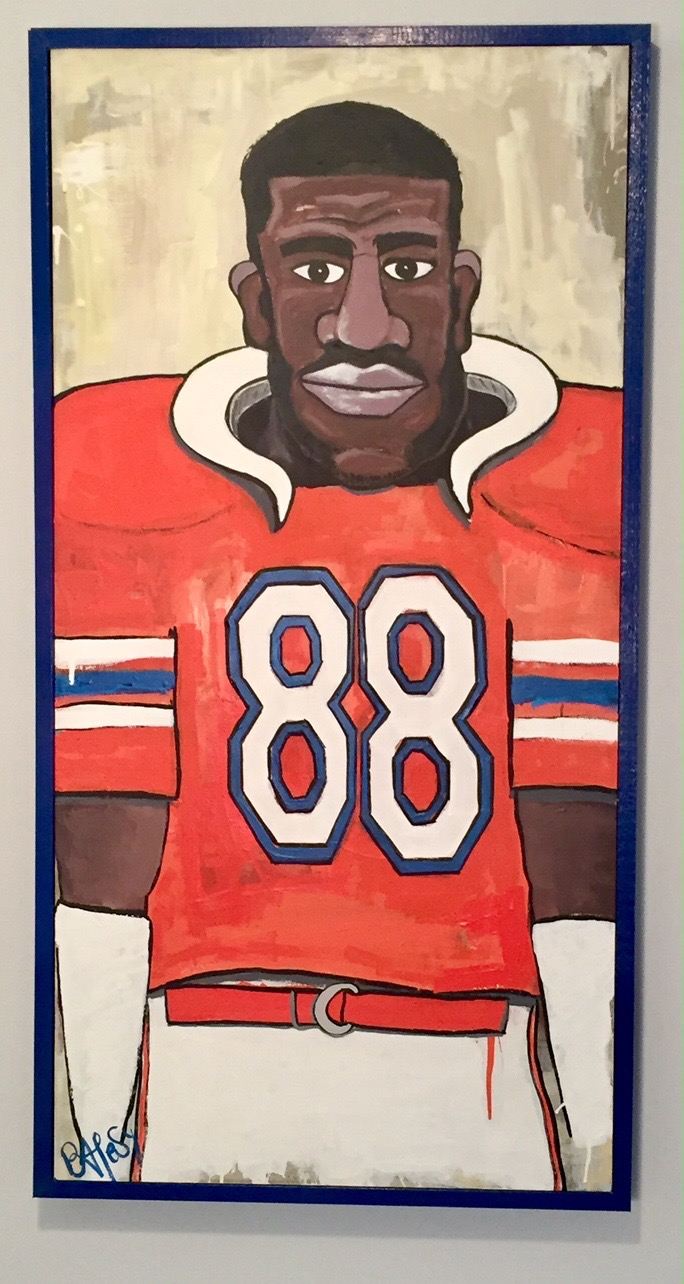 WILBER MARSHALL / FLORIDA'S GREATEST 'BACKER / SOLD