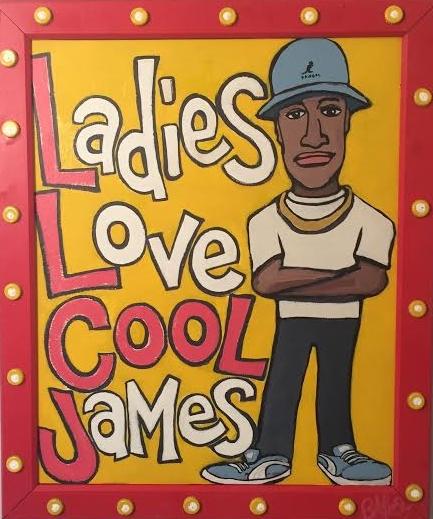 """LL Cool J / 33""""x28"""" / 400"""