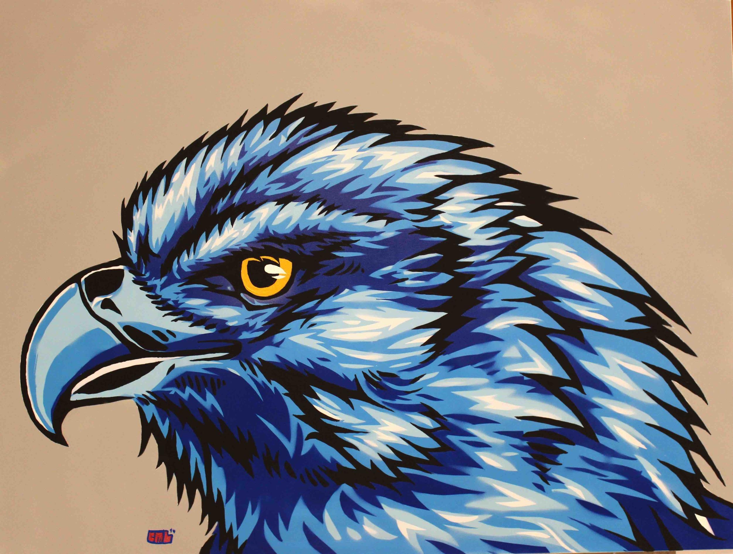 XL Bird.jpg  Calvin Laituri Acrylic and Spray Paint 36- x 48-.jpg