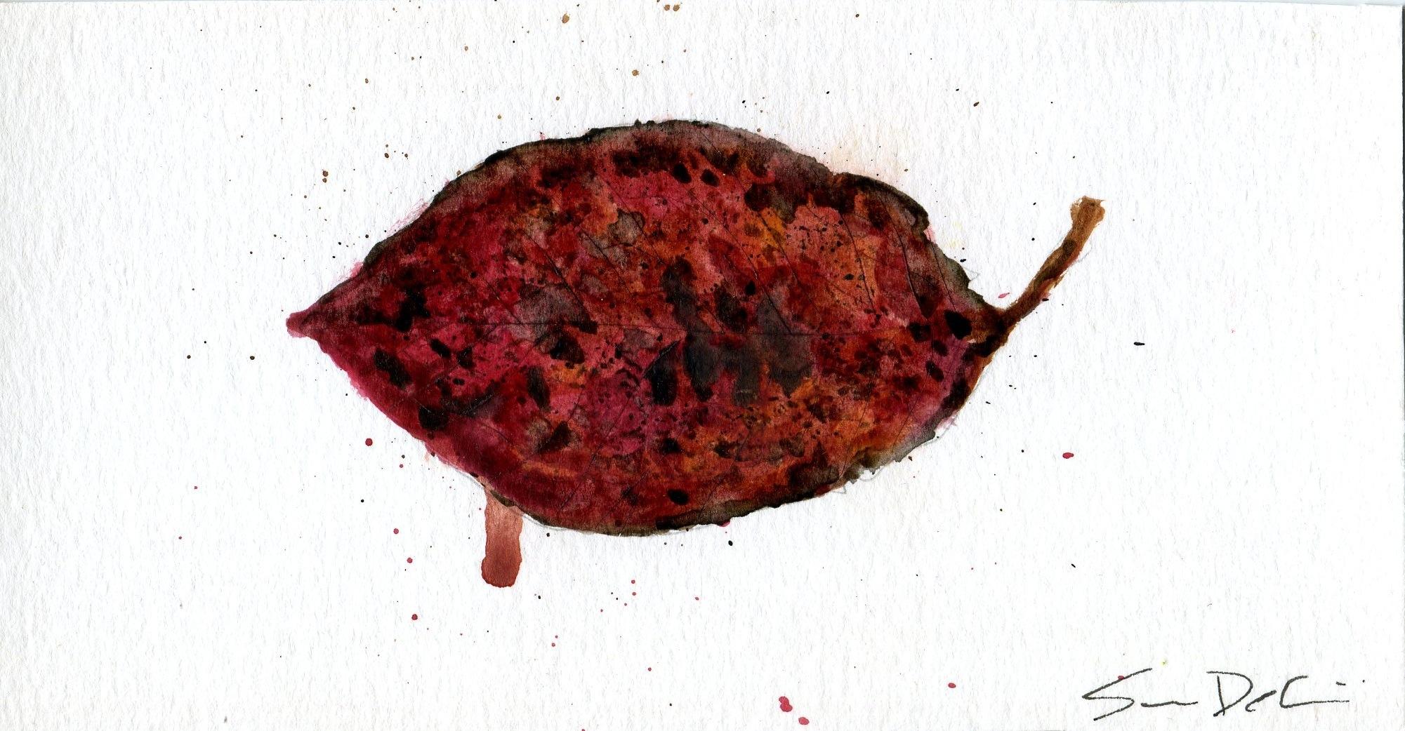 Tupelo Leaf Portrait 001