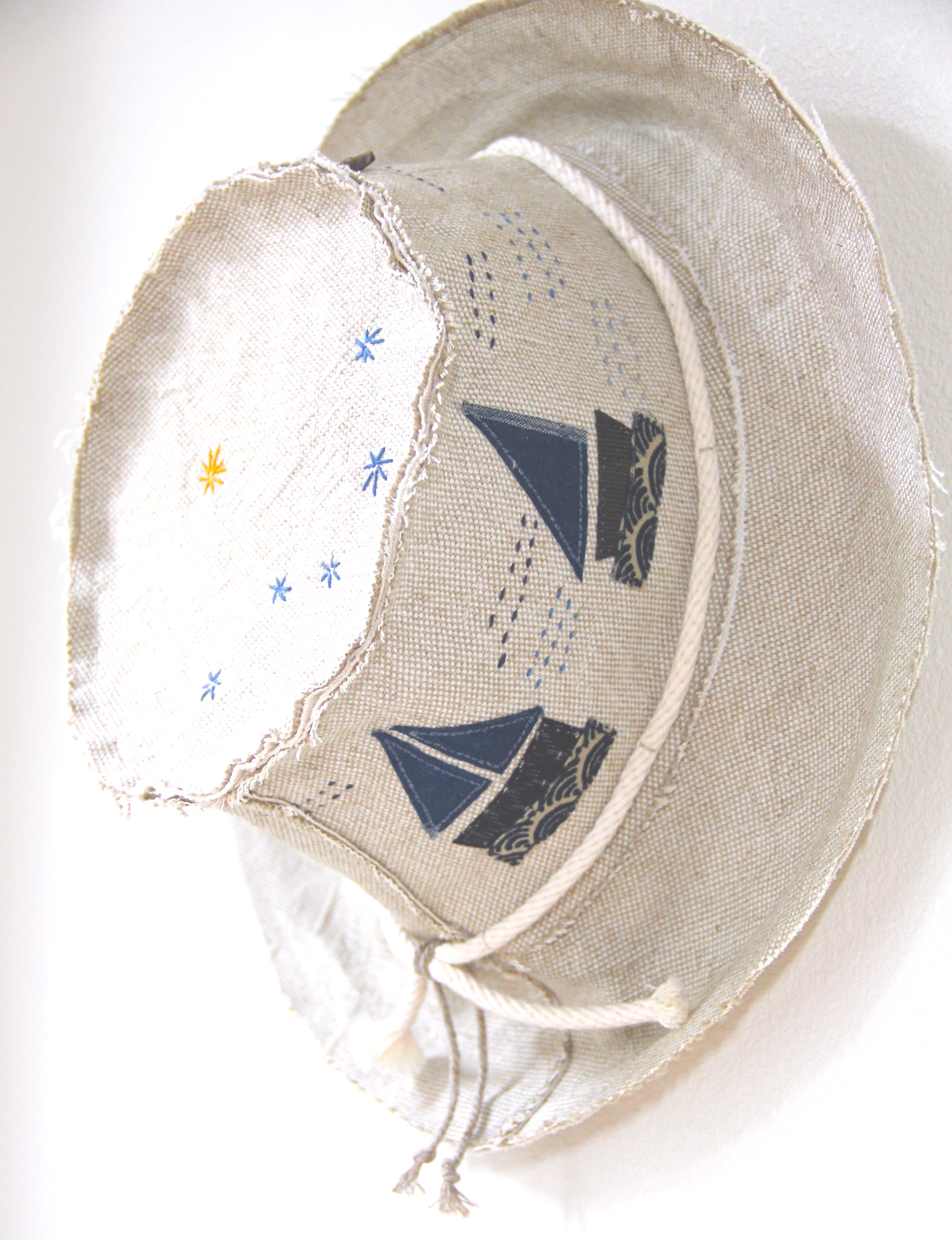 'Set Sail' Sun 'n Shade Hat - Side View