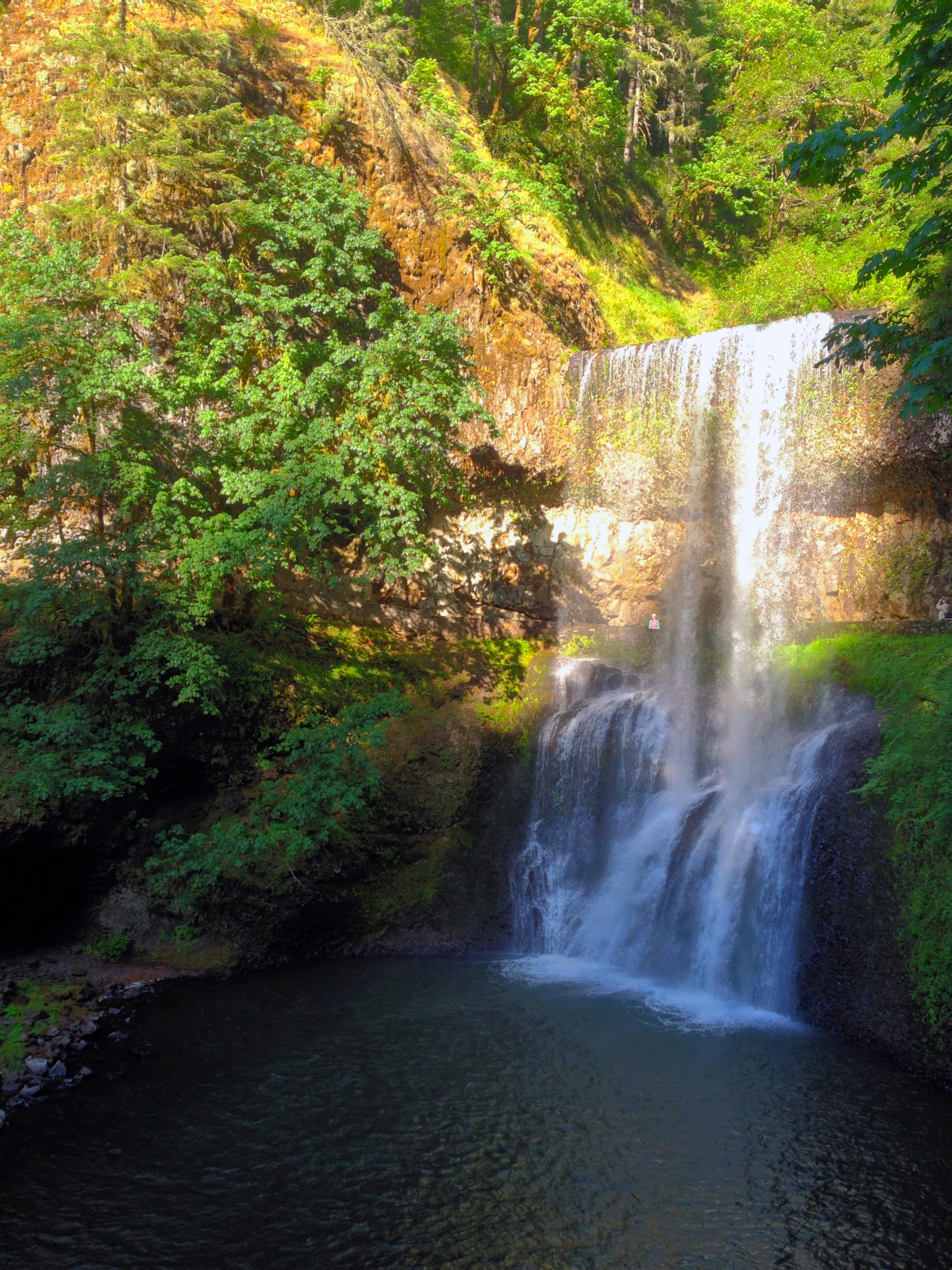 Lower South Falls, OR (93 ft)
