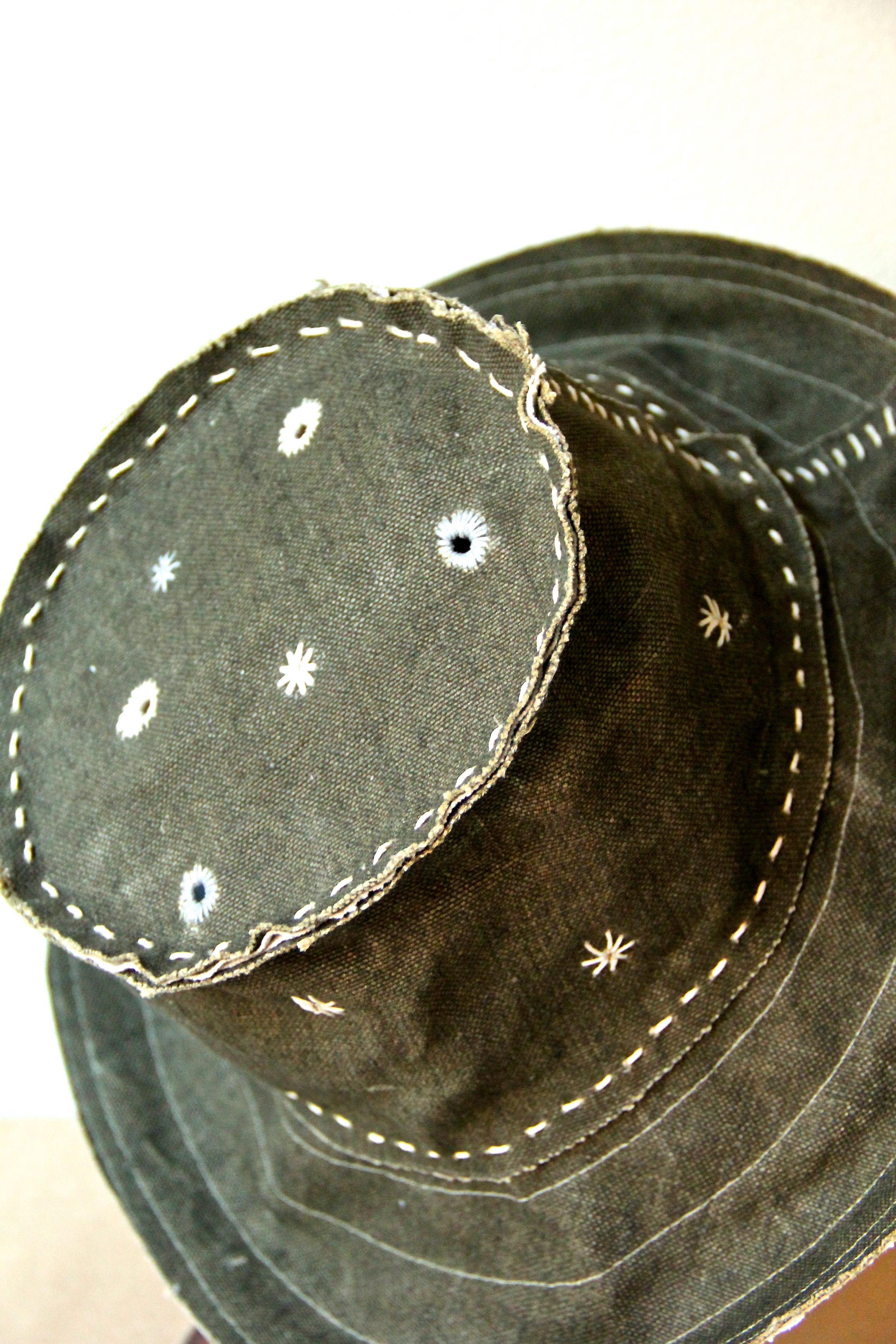 'mountain star' handmade hat