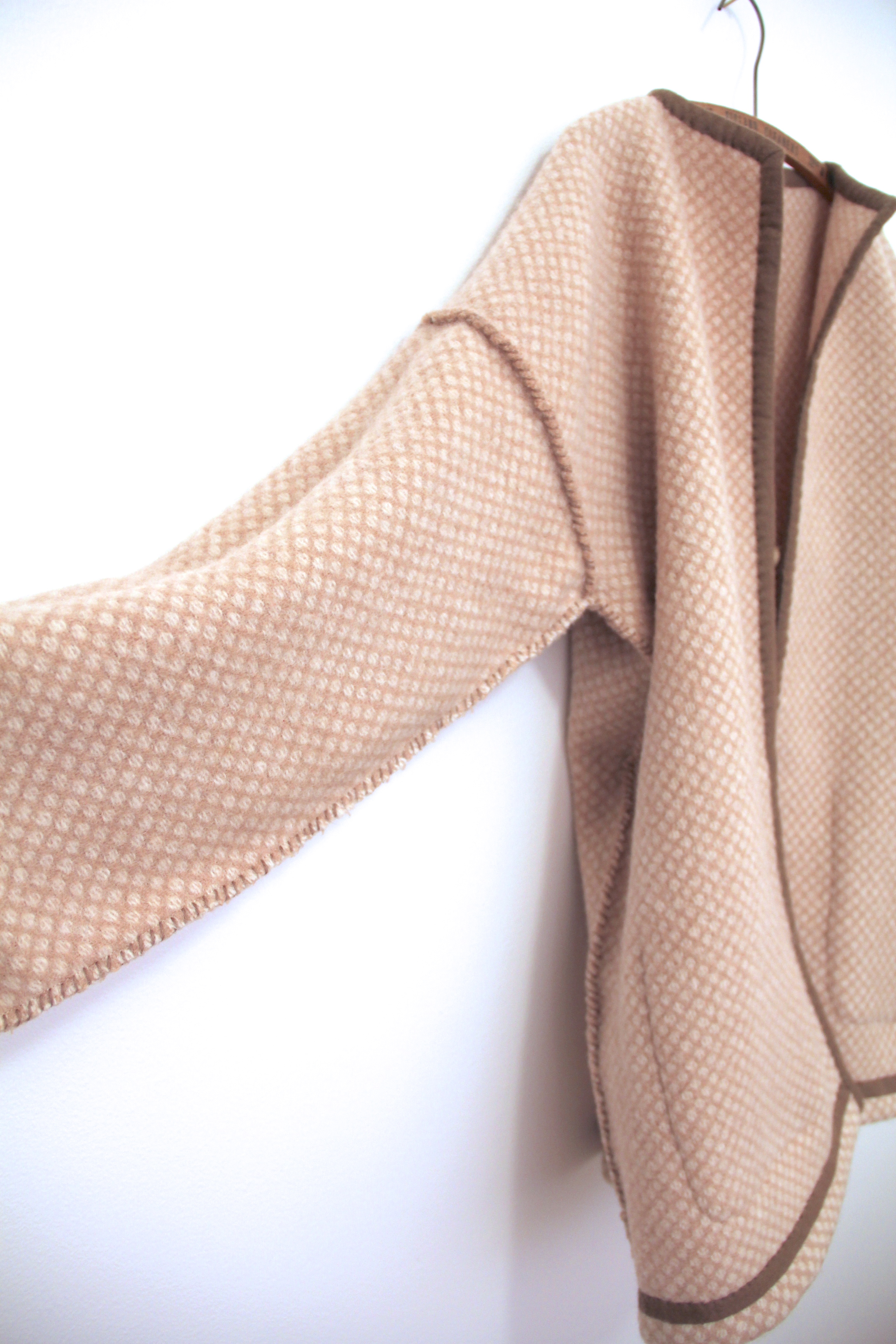 'cafe au lait' coat - inside out