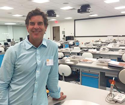 Dr. Kivel at CEREC Course in Scottsdale, AZ