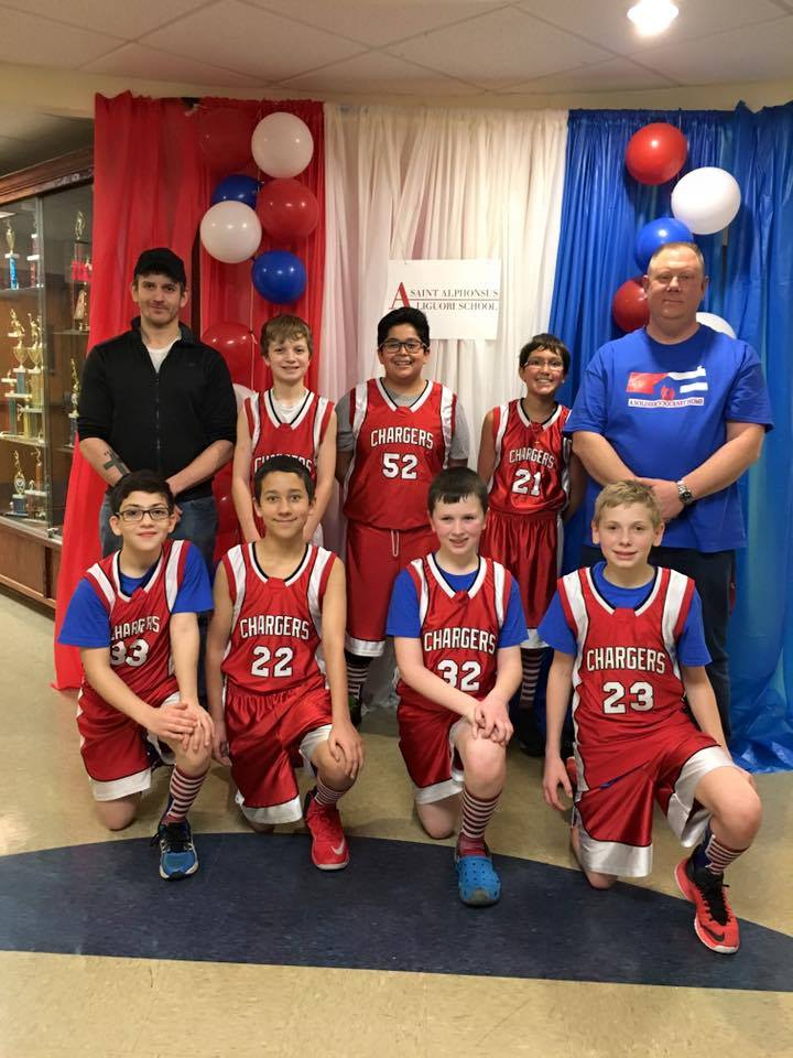 Our Sixth Graders won the Soldier's Journey Home Championship game and are undefeated so far this season! #chargeon #stalchargers
