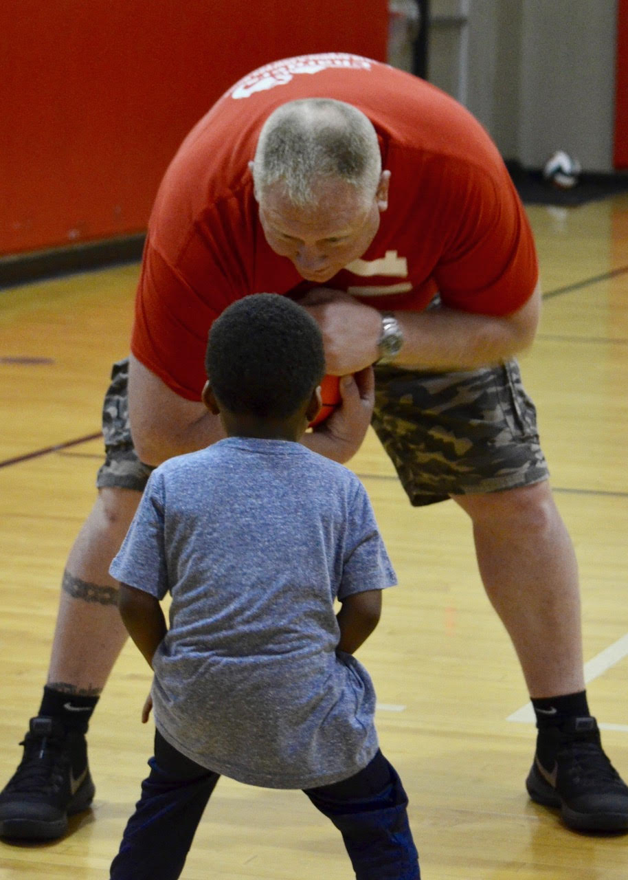 Big hearted Coaches - No one is too small to play!