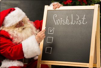 READY FOR SANTA SHOPPE? - Parents and students enjoy shopping and volunteering!