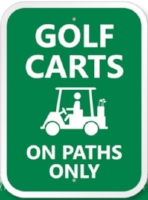 Cart Path Only during wet weather