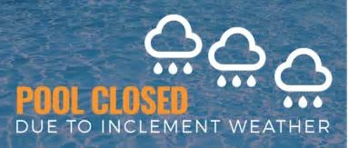 June 5, 2017 - We will be adding chemicals to the pool, the pool will re-open June 6th weather permitting!