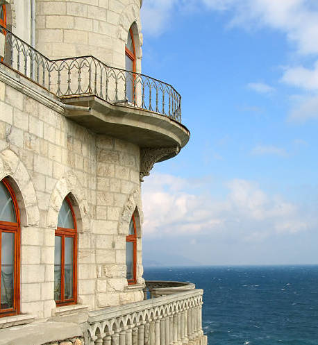 When I look out over my castle balcony I see. . . -