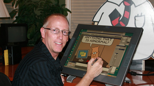 Scott Adams e Dilbert